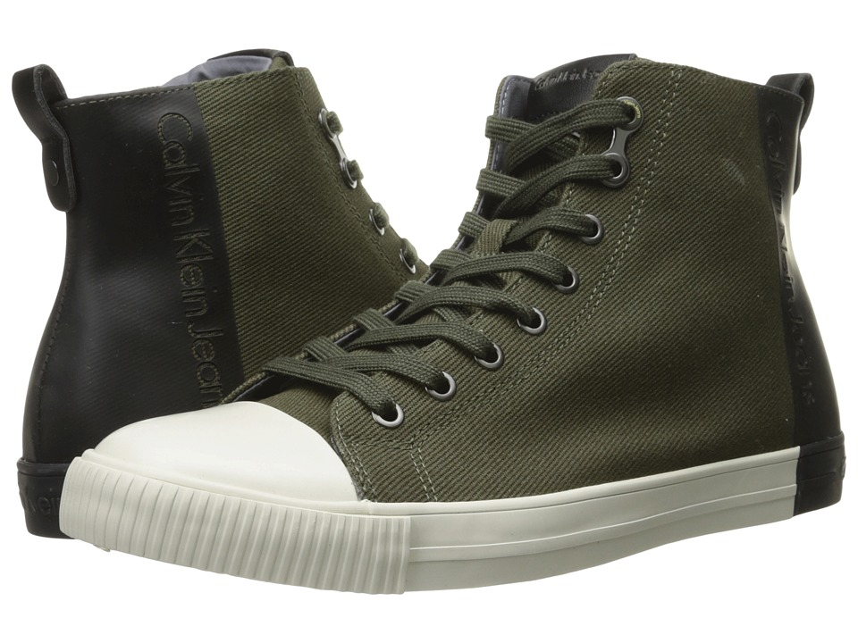 Calvin Klein - Arnaud (Military/Black Twill/Coating) Men
