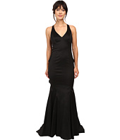 Adrianna Papell - Stretch Taffeta Back Ruffle Gown