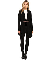 Christin Michaels - Brilliant Cut Buckle Cardigan