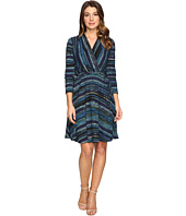 Christin Michaels - Riddle Wrap Dress