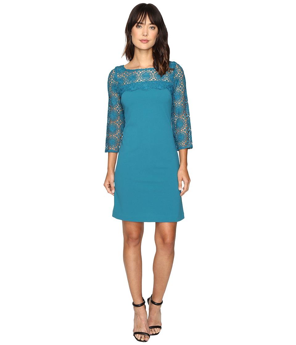Christin Michaels Enigma Dress (Teal Honor) Women