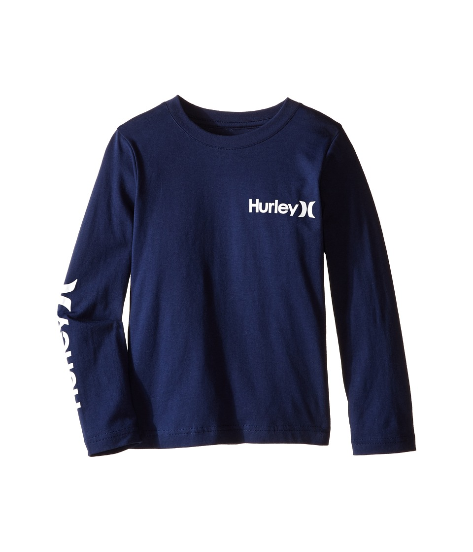 Hurley Kids Vintage One and Only Tee (Little Kids) (Midnight Navy) Boy