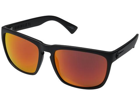 Electric Eyewear Knoxville XL - Matte Black/Optical Health Through Melanin Grey Fire Chrome