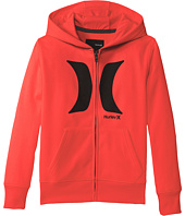 Hurley Kids - Drifit Full Zip Hoodie (Big Kids)