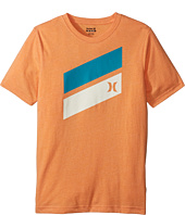 Hurley Kids - Short Sleeve Icon Slash Tee (Big Kids)