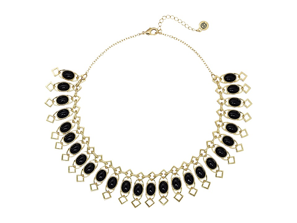 House of Harlow 1960 - Lady Grace Collar Necklace (Black) Necklace