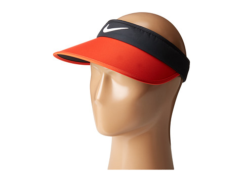 Nike Golf Big Bill Visor 3.0 - Black/Max Orange/Anthracite/White