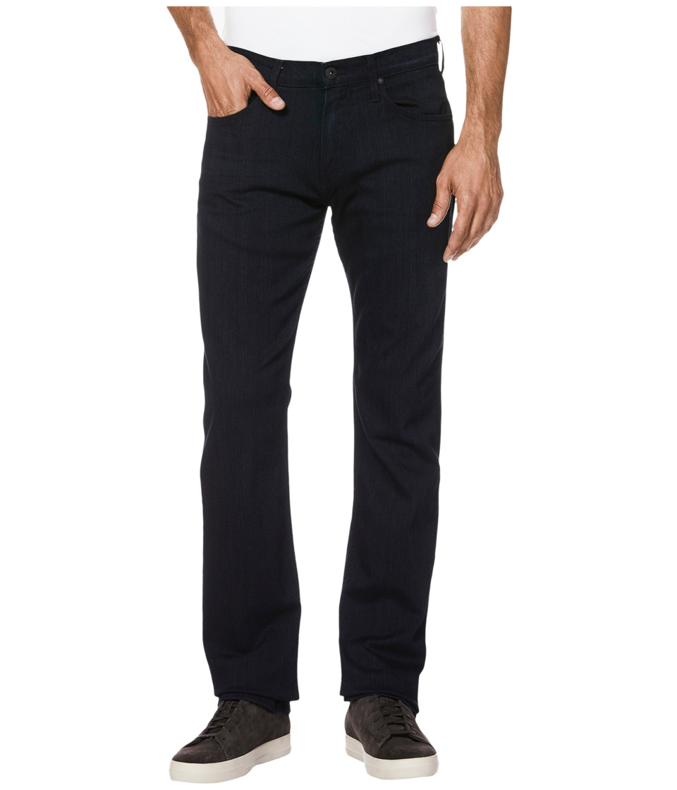 Paige - Normandie Straight Leg Soft Comfort Stretch in Inkwell (Inkwell) Mens Jeans