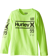 Hurley Kids - Pride Only Long Sleeve Tee (Little Kids)