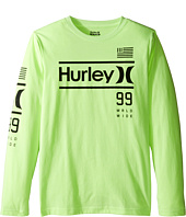 Hurley Kids - Pride Only Long Sleeve Tee (Big Kids)