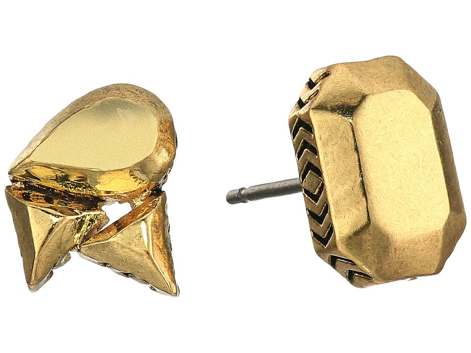 House of Harlow 1960 - The Theia Studs Earrings (Gold) Earring