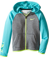 Nike Kids - Thermal Hoodie Full Zip At Graphic (Little Kids)