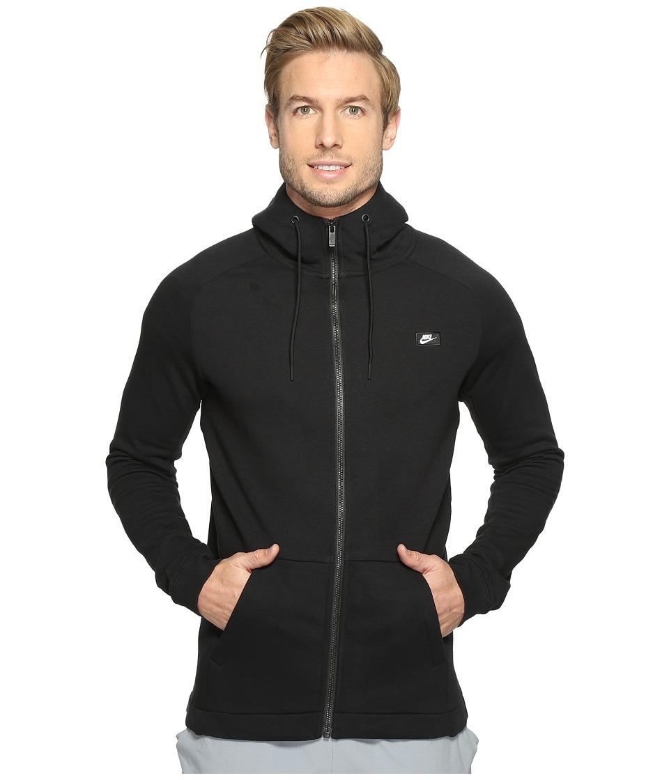 Nike - Sportswear Modern Full-Zip Hoodie (Black) Men's Sweatshirt
