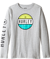 Hurley Kids - Petro Long Sleeve Tee (Big Kids)
