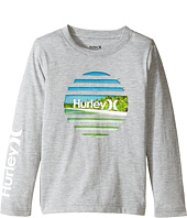 Hurley Kids - Tear Horizon Long Sleeve Tee (Little Kids)