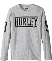 Hurley Kids - Bleachers Long Sleeve Tee (Big Kids)