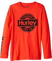Hurley Kids - Long Sleeve Tee (Big Kids)