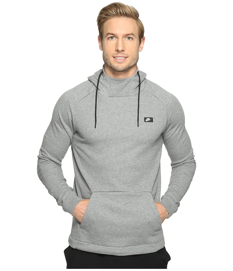 Nike Sportswear Modern Pullover Hoodie (Carbon Heather) Men
