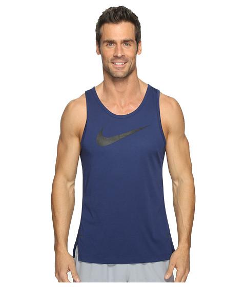 Nike Dry Elite Basketball Tank - Binary Blue/Binary Blue/Black