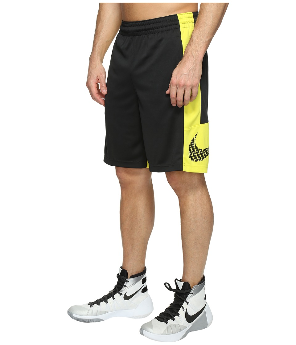 Nike Basketball Short (Black/Electrolime/Black/Black) Men