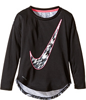 Nike Kids - Dri-FIT Modern Long Sleeve Graphic Top (Toddler)
