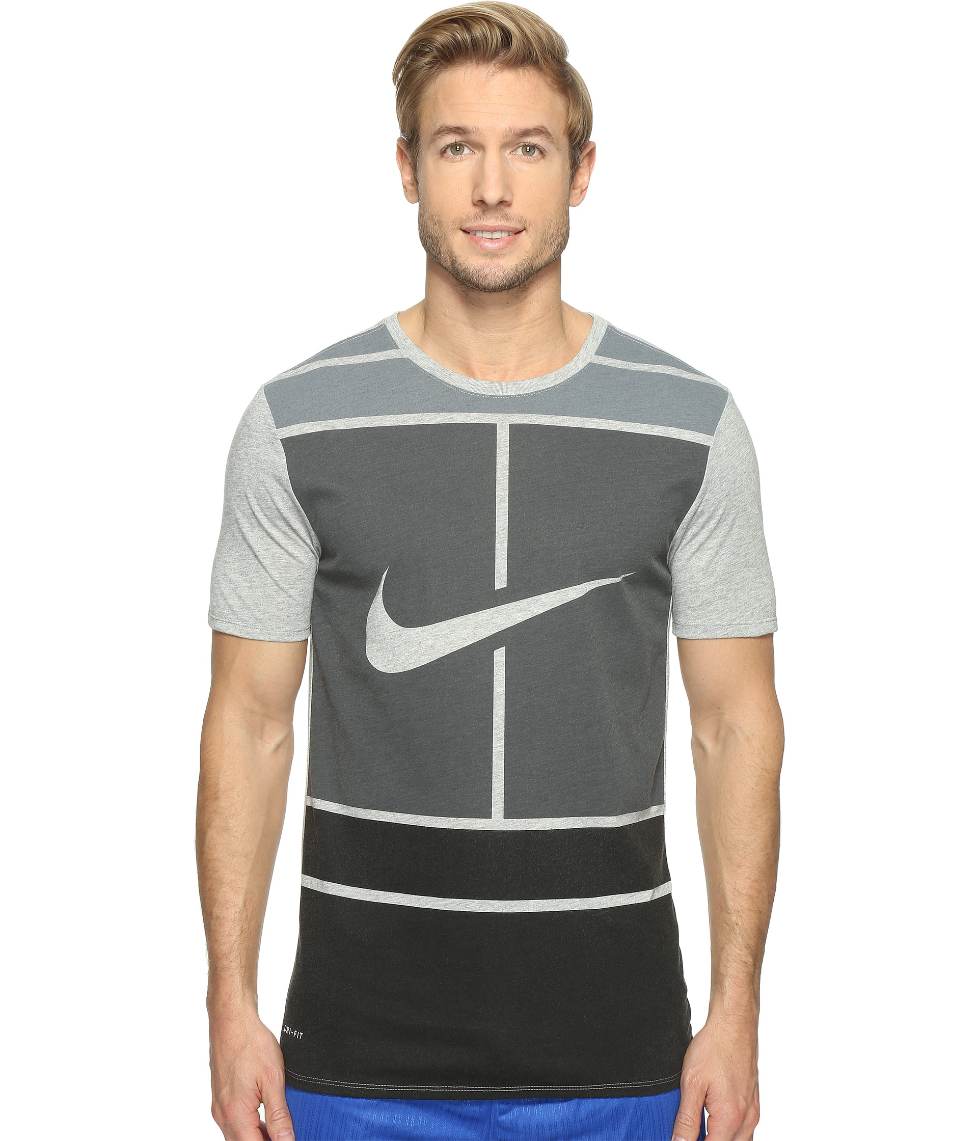 nike court dry tennis t shirt at. Black Bedroom Furniture Sets. Home Design Ideas