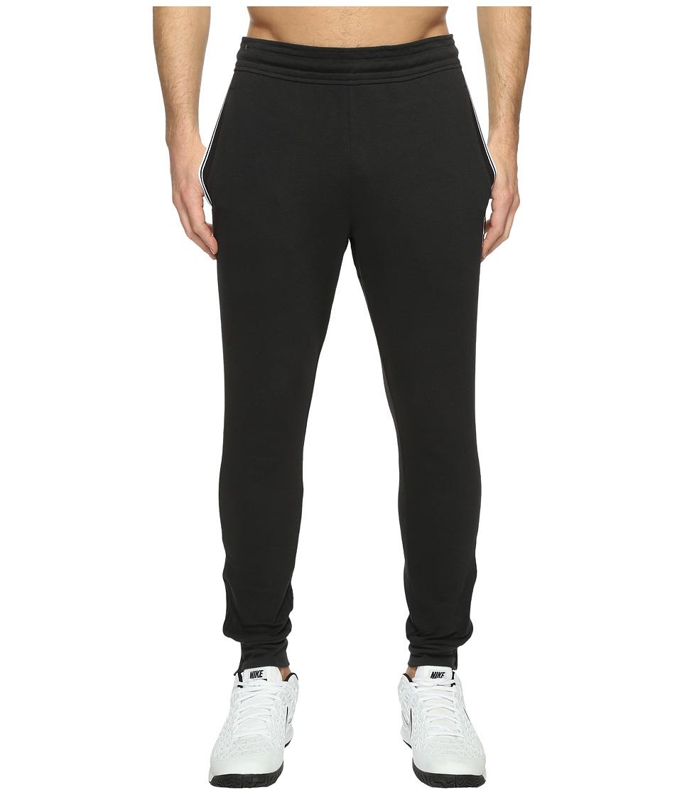 Nike Court Tennis Pant (Black/White) Men