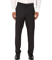 Perry Ellis - Regualar Fit Tonal Micro Check Flat Front Pants