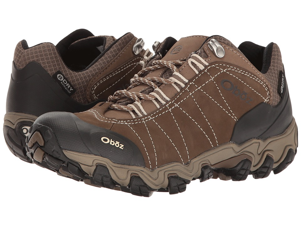 Oboz Bridger Low BDry (Walnut) Women's Shoes