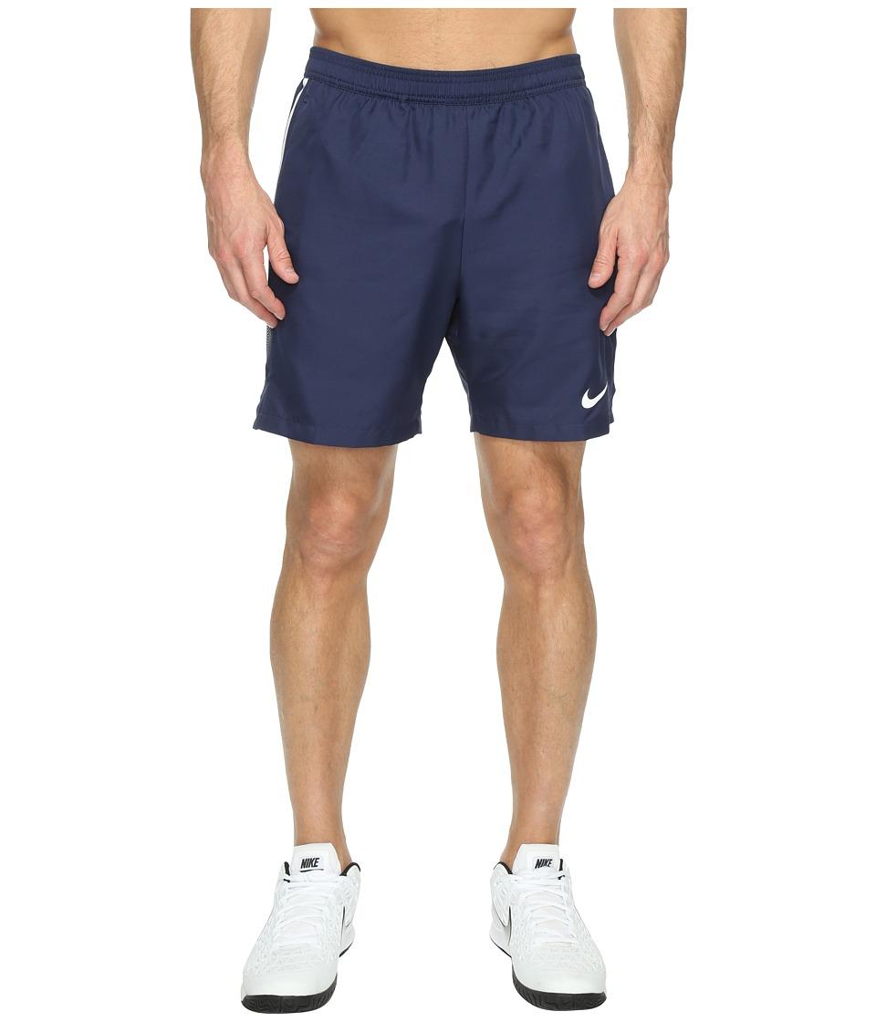Nike Court Dry 7 Tennis Short (Midnight Navy/White/White) Men