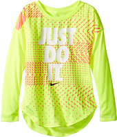 Nike Kids - Just Do It Geo Mashup Modern Tee (Toddler)