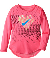 Nike Kids - Heart Geo Mashup Modern Tee (Toddler)