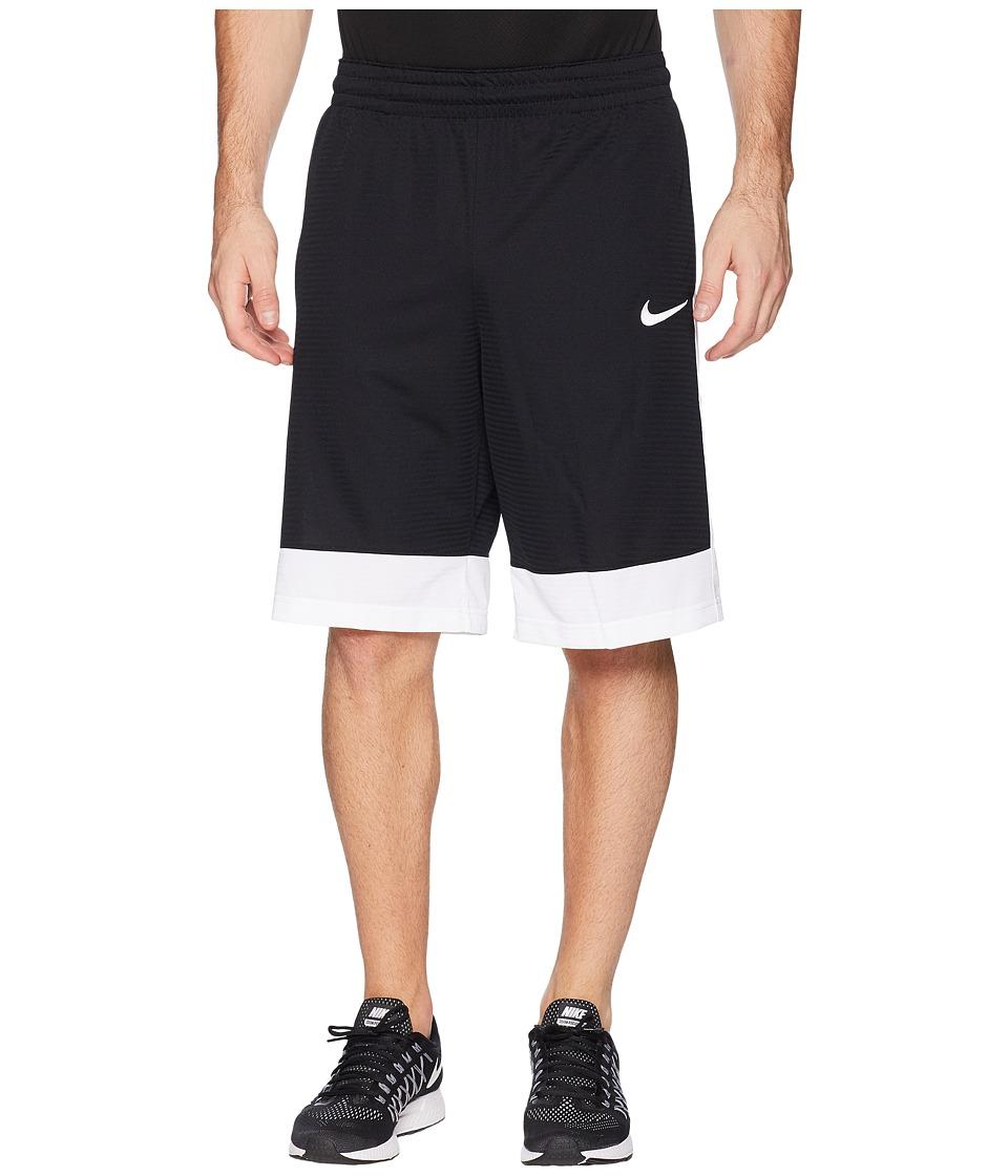 Nike Fastbreak Basketball Short (Black/Electrolime) Men