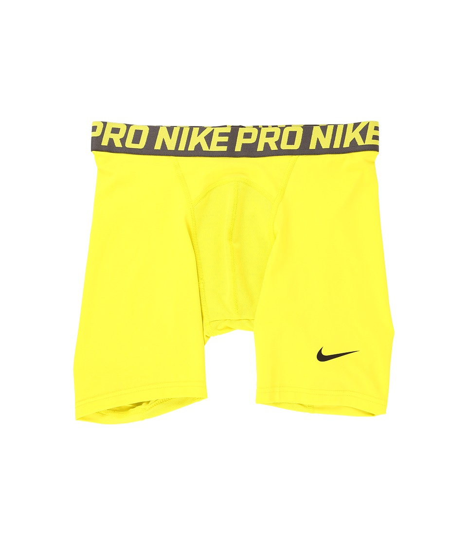 Nike Pro Cool Compression 6 Short (Electrolime/Midnight Fog/Black) Men