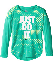 Nike Kids - Just Do It Geo Mashup Modern Tee (Little Kids)
