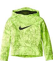 Nike Kids - Therma Pullover Print Hoodie (Toddler)
