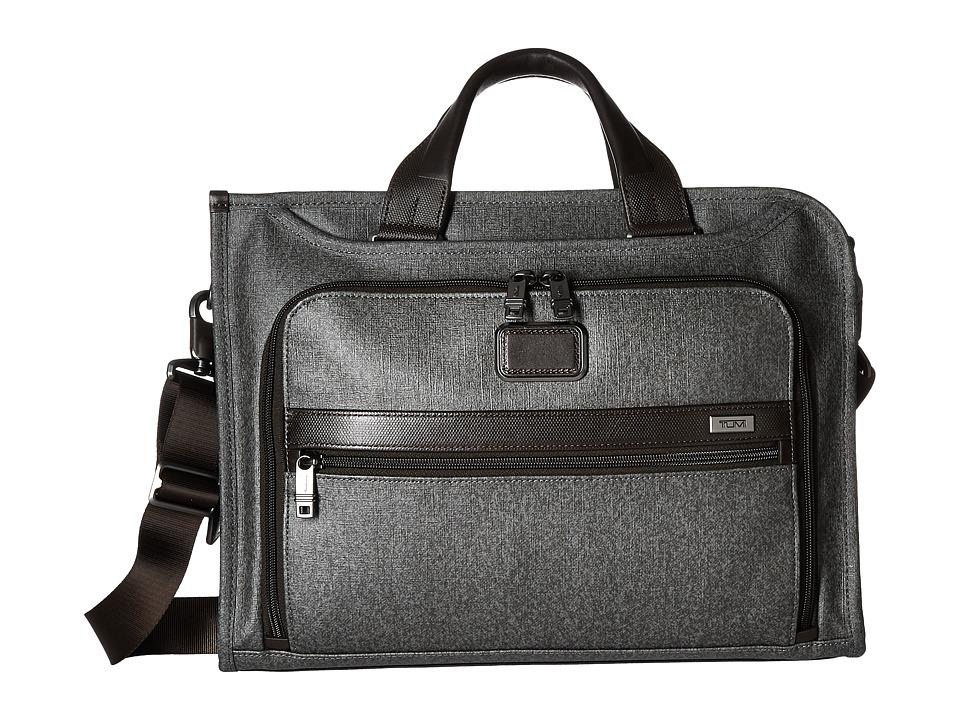 Tumi - Alpha 2 - Slim Deluxe Portfolio (Earl Grey) Briefcase Bags