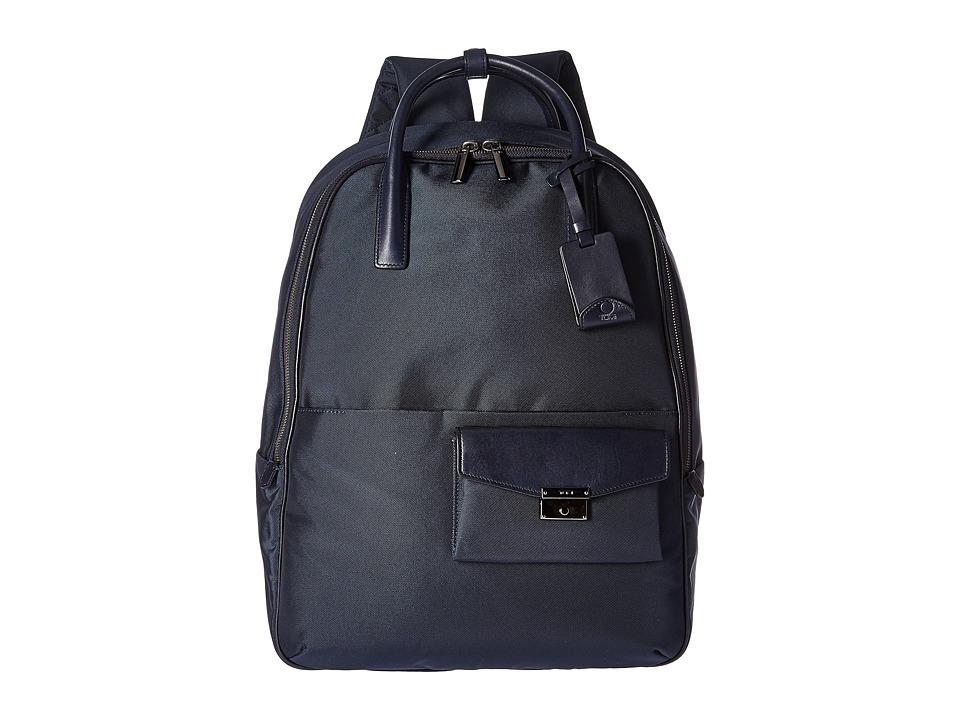 Tumi - Larkin Portola Convertible Backpack (Indigo) Backpack Bags