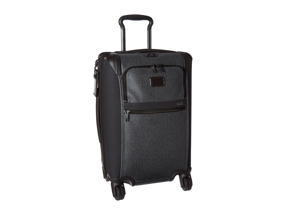Tumi Alpha 2 International Expandable 4 Wheeled Carry-On (Earl Grey) Carry on Luggage