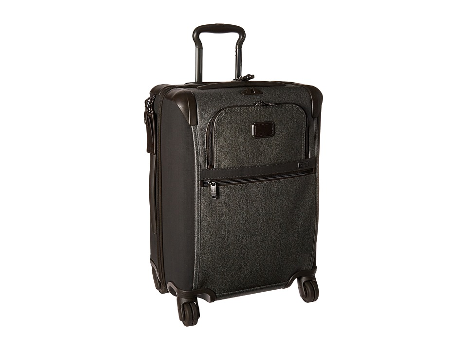 Tumi - Alpha 2 - Continental Expandable 4 Wheeled Carry-On (Earl Grey) Carry on Luggage