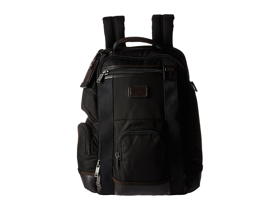 TUMI Alpha Bravo - Shaw Deluxe Brief Pack(r) (Hickory) Br...