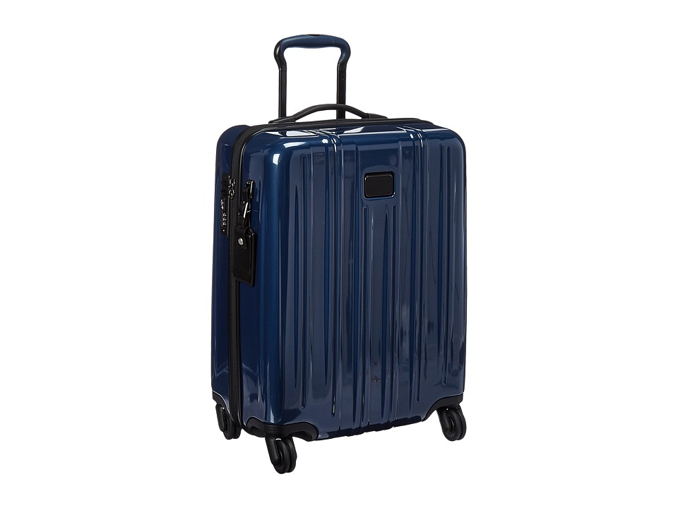 Tumi - V3 International Carry-On (Steel Blue) Carry on Luggage