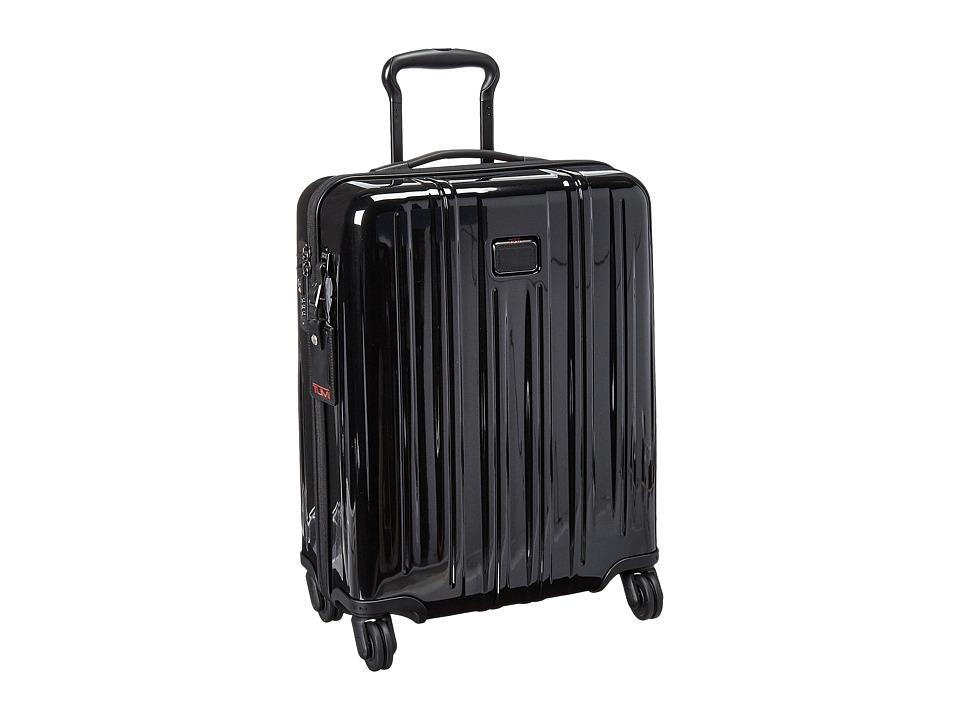 Tumi - V3 International Carry-On (Black) Carry on Luggage