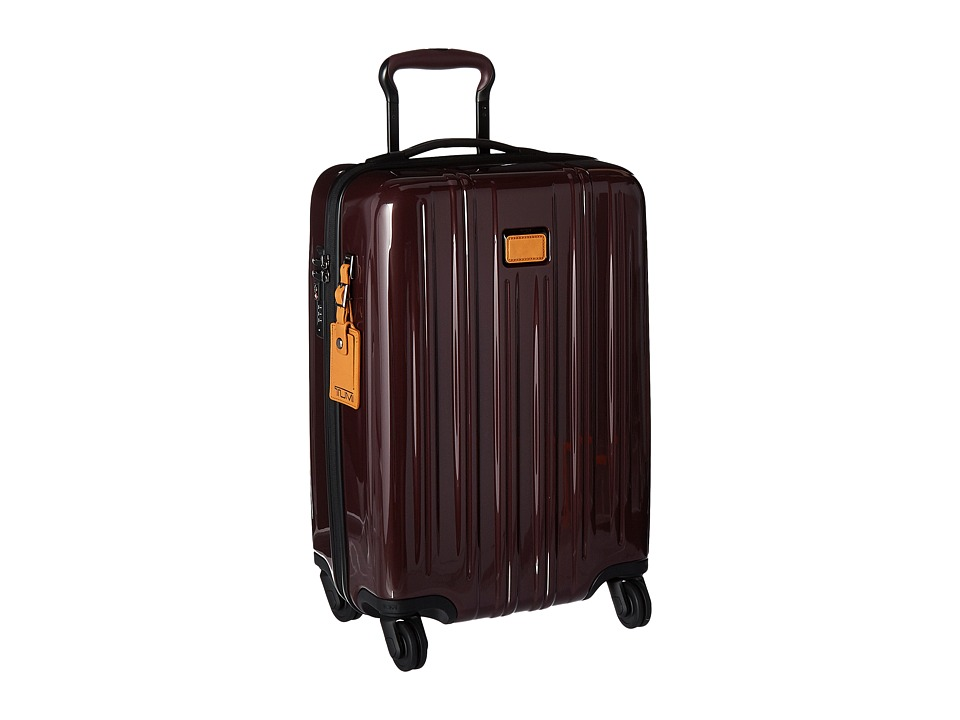 Tumi - V3 International Carry-On (Merlot) Carry on Luggage