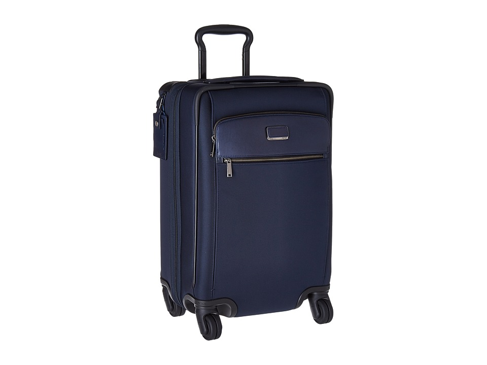 Tumi - Larkin Carla International Expandable 4 Wheel Carry-On (Indigo) Carry on Luggage