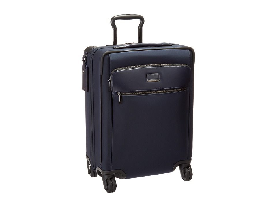 Tumi - Larkin Continental Expandable 4 Wheel Carry-On (Indigo) Carry on Luggage