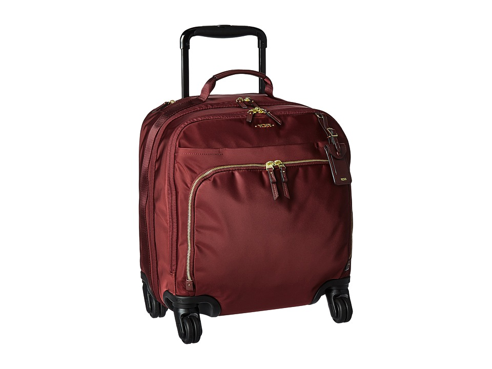 Tumi - Voyageur - Oslo 4 Wheel Compact Carry-On (Merlot) Carry on Luggage