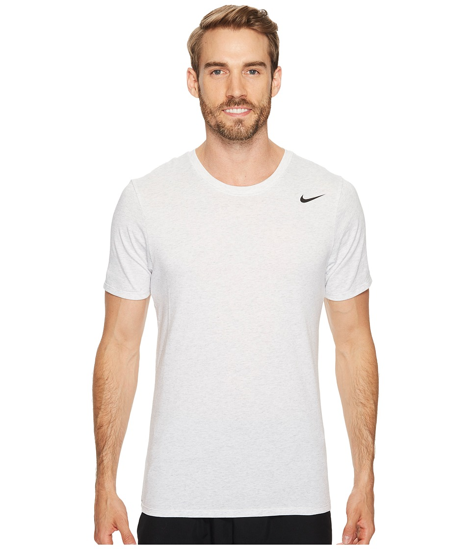 Nike Dri-FITtm Version 2.0 T-Shirt (Birch Heather/Birch Heather/Black) Men