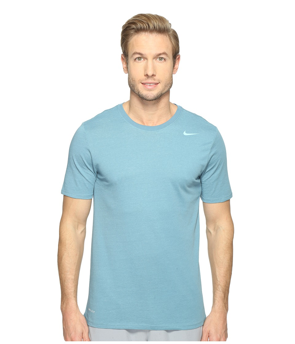Nike Dri-FIT Version 2.0 T-Shirt (Smokey Blue/Vivid Sky/Vivid Sky) Men