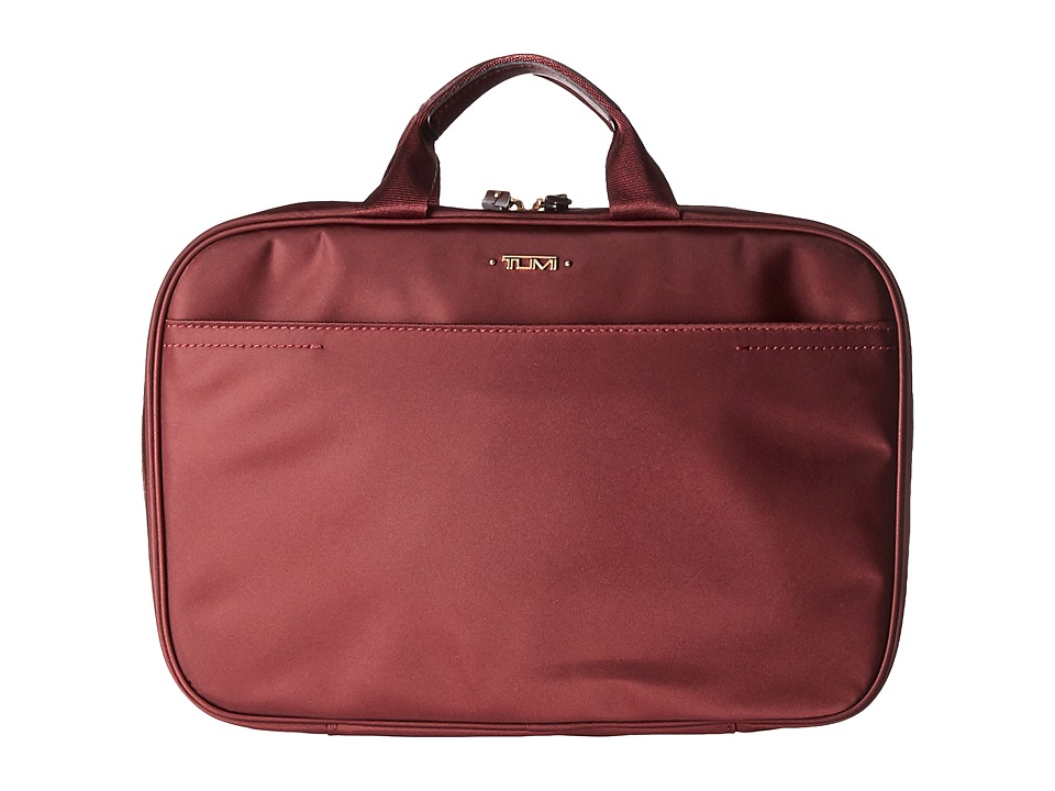 Tumi - Voyageur - Monaco Travel Kit (Merlot) Travel Pouch